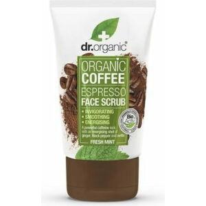 Dr. Organic Élénkítő arcradír bio kávéval, 125 ml
