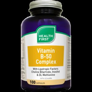 Health First B50 Vitamin Komplex (100) kapszula HF