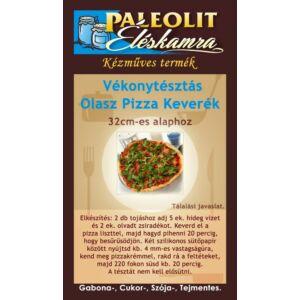 Vékonytésztás Olasz Pizza Lisztkeverék Paleolit Éléskamra 185g