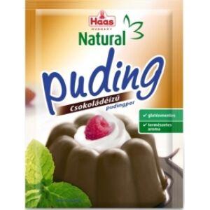 HAAS NATURAL pudingporok, több ízben