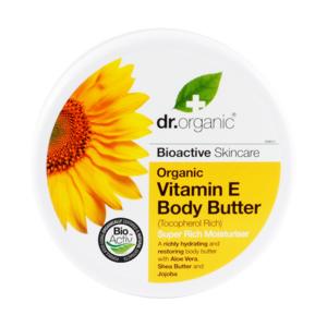Dr. Organic Bio E-vitaminos testápoló vaj