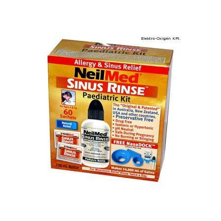 SinuRinse orr irrigátor gyermek szett 60 tasakkal (4-9 éveseknek)