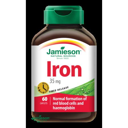 Jamieson Vas 35 mg elnyújtott hatású 60 tbl.