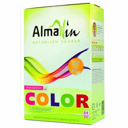 AlmaWin COLOR ÖKO Mosópor koncentrátum színes ruhákhoz hársfavirág kivonattal - 64 mosásra