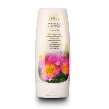 Biola Bio rózsa fürdőkrém - 200 ml