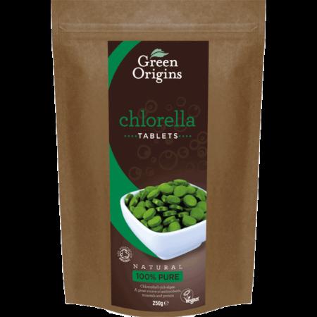 Chlorella alga tabl etta(Green Origins), 250g
