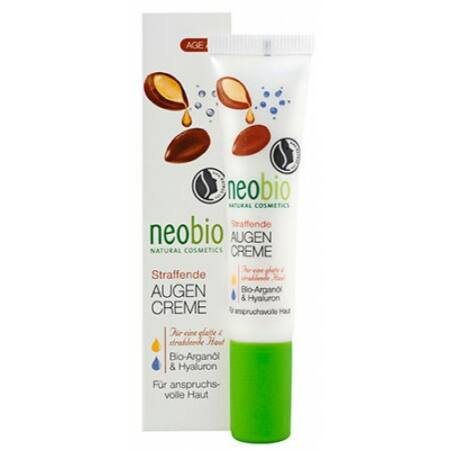 Neobio feszesítő szemránckrém bio argán olaj, és hialuronsav 15 ml