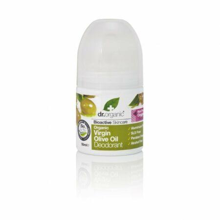 Dr. Organic Alumíniummentes golyós dezodor bioaktív szűz olívaolajjal
