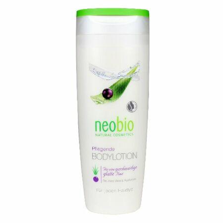 Neobio testápoló bio aloe verával, és bio acai bogyóval 250 ml