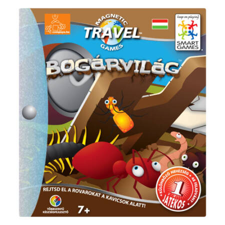 Busy Bugs - Bogárvilág- mágnesen utazó
