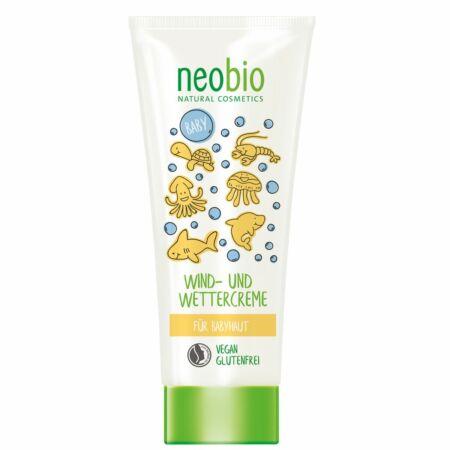 Neobio Baby Védőkrém szél és időjárás ellen, 100 ml