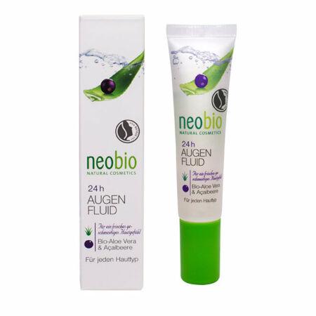 Neobio 24 órás Szemkörnyékápoló bio Aloe verával és akaibogyóval