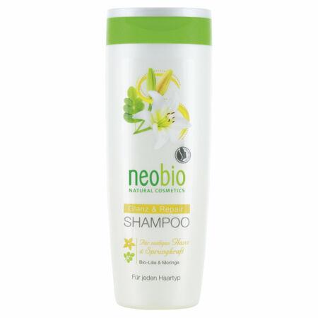 Neobio Regeneráló sampon fénytelen hajra bio fehérliliom - és moringakivonattal 150ml