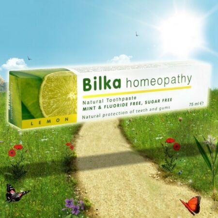 Bilka Homeopátiás Fehérítő Fogkrém Citrom