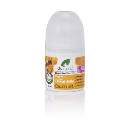 Dr. Organic Alumíniummentes golyós dezodor bioaktív méhpempővel, 50ml