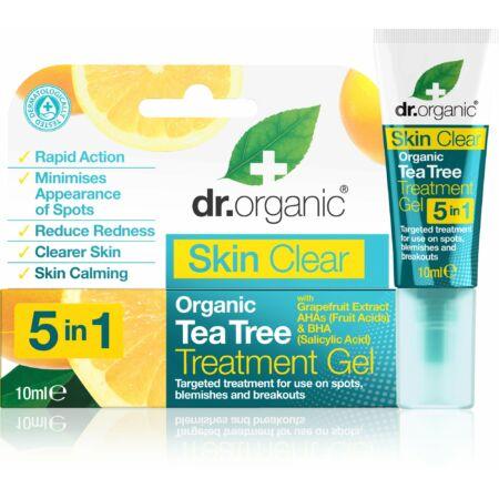 Dr. Organic Skin Clear Pattanáskezelő gél 5 az 1-ben, 10 ml
