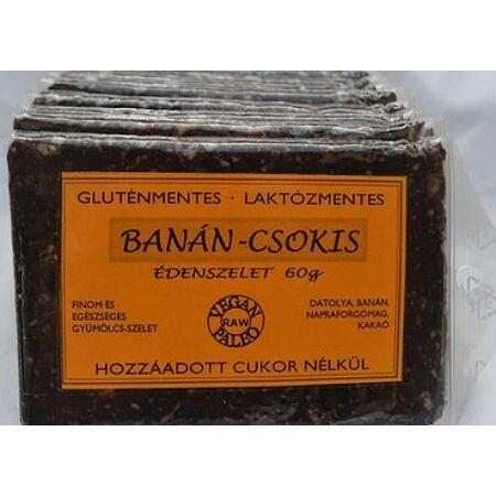 Édenszelet Banános-Csokis szelet 60g