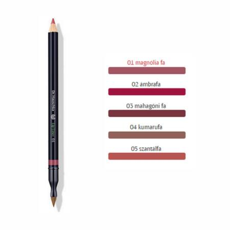 Új! Dr Hauschka Szájkontúr ceruza 1.05g