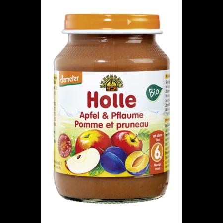 Holle bio bébiétel alma szilvával (190g)