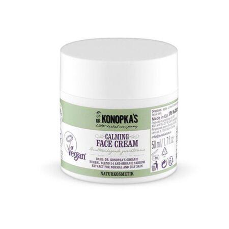 Dr. Konopka's Nyugtató-tápláló arckrém - normál, zsíros bőrre