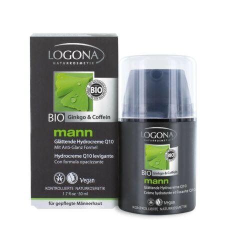 Logona Mann Q10 hidratáló krém ginkgo, és koffein kivonattal 50ml