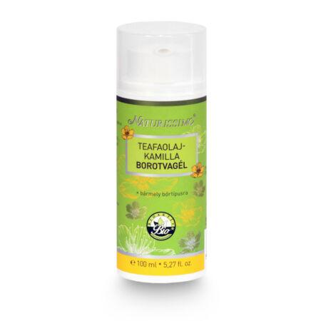 Biola Naturissimo Teafaolaj-kamilla borotvagél 100ml