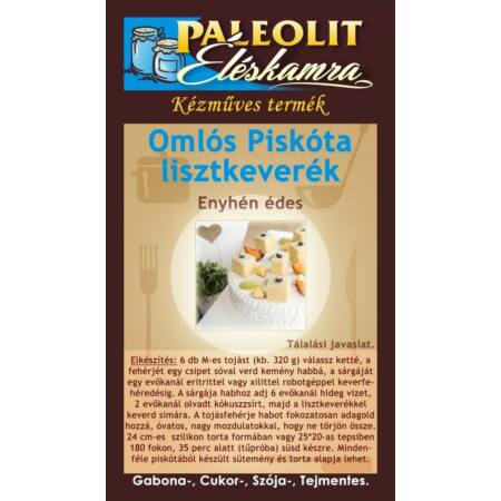 Paleolit Éléskamra Omlós Piskóta keverék 170g