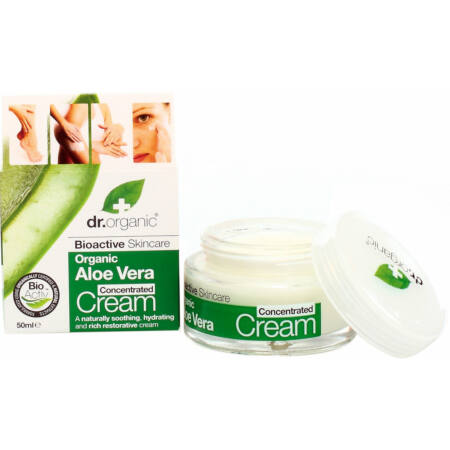 Dr Organic Bio Aloe Vera krémkoncentrátum