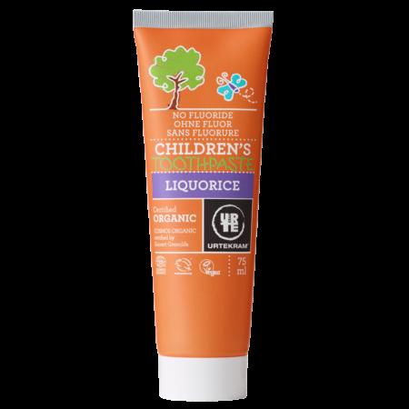 Urtekram BIO Fluoridmentes Fogkrém gyermekeknek, édesköménnyel - 75 ml