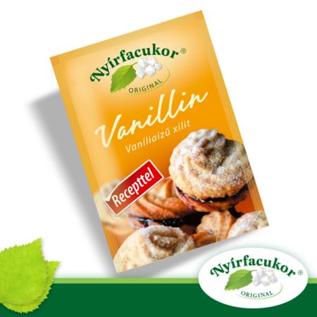 Nyírfacukor vaníla ízű xilit, 10gr