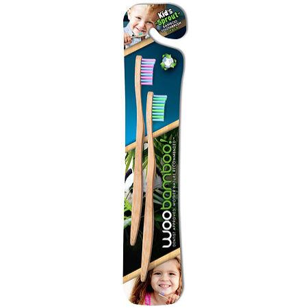 Woobamboo bambusz gyerek fogkefe