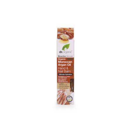 Dr Organic Hidratáló Kéz-és körömápoló balzsam marokkói bio argán olajjal, 100 ml