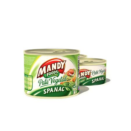 Mandy növényi pástétom - spenótos