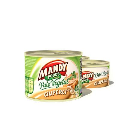Mandy növényi pástétom - gombás