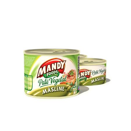 Mandy növényi pástétom - olivás