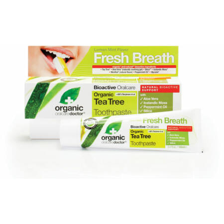 Dr Organic Bio Teafa fogkrém