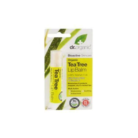 Dr Organic Bio Teafa ajakbalzsam