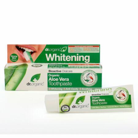 Dr Organic Bio Aloe Vera fogkrém