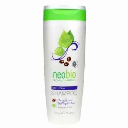 Neobio Volumen sampon -bio koffeinnel és Bio nyírfa kivonattal 250 ml