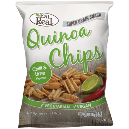 EAT REAL QUINOA CHIPS 30g