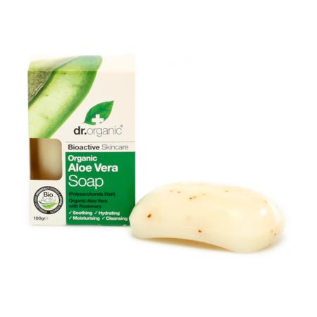 Dr Organic Bio Aloe Vera szappan