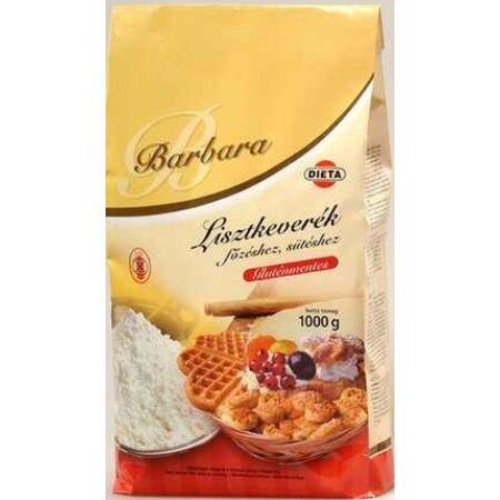 Barbara gluténmentes lisztkeverék főzéshez-sütéshez 1000 g