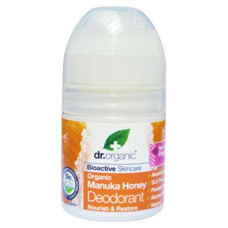 Dr Organic Bio Manuka mézes aliminiummentes golyós dezodor
