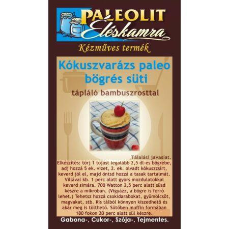 Kókuszvarázs paleo bögrés süti Paleolit Éléskamra  50g