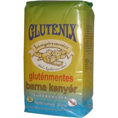 Glutenix gluténmentes barna kenyér sütőkeverék PKU 500g