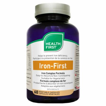 Health First Iron First 34mg vas (60) kapszula HF