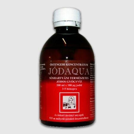 Jódaqua® természetes jódos gyógyvíz