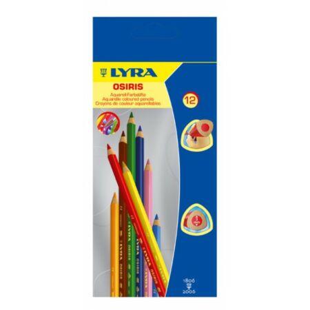 LYRA Osiris Aquarell ceruza 12 színű, 24 színű