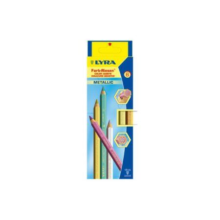 LYRA Super Ferby metál, 6 színű lakkozott