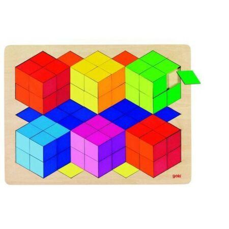 Kockák puzzle 86 darabos